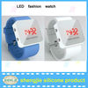 sport style silicone led digital watch 2012