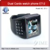 ET-2 Watch Phone With Quad Band,Dual Cards