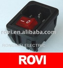 Power socket RWG-112