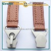 Leather zipper puller