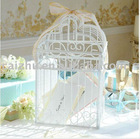 White Powder Coat Wedding Card Box
