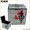 Glass Jewelry Box With One Color Pattern