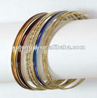 metal bangle&bracelet set of 9