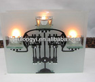 romantic candle holder in different sizes and shapes