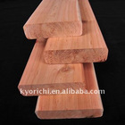 Red cedar wooden decking for hotel ship decoration