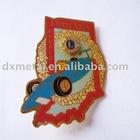 metal emblem