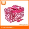 Dot Peace Floral Luggage Duffle Sport Gym Bag