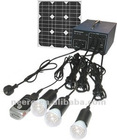 20W Portable Solar Power System With DC&AC Output