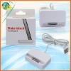 For Iphone 4G 4S white color USB Cable Charger Data dock