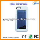 Manufacturer design rechargeable portable iphone portable solar charger solar phone case for Iphone4/4s with CE,ROHS,FCC