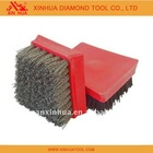 Masonry Brush,Stone Brush for Polishing Stone Materials