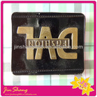 Garment jeans lether tag