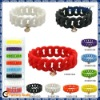 Unique Design Silicon Bracelet In 2012 Hot Selling