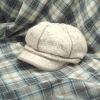 Ladies hat with six panels