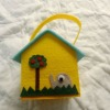 felt house easter decoration