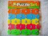 small number and letters puzzles for children