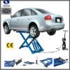 Movable and portable scissor hydraulic cheap car lifts QDSH-S2010 2000KGS