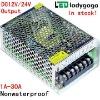 2012 high quality output DC24V led driver Input 220v 24v power supply