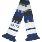 knit soccer scarf with embroidery