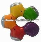 4 sport flower shape USB hub