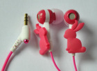 Promotion Items for Girls Product: P226C Bunny Earphone