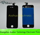 Wholesale for iPhone 4 lcd screen with touch glass lens, paypal accept