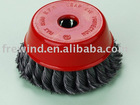 Knot Cup Brush 75 x M10 x 0.35 Wire