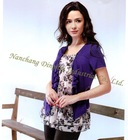 Summer high end botique clothing shirt for lady