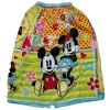 kids terry Bath skirt lovely Mickey Mouse towel small