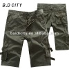2011 new 100% cotton twill cargo shorts
