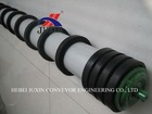 conveyor rubber disc return roller, self cleaning roller idler