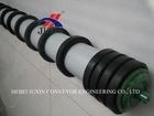 conveyor rubber disc return roller, self cleaning roller idler