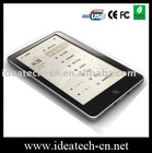 HOT selling ebook reader with touch screen ,7inch touch screen e-book reader