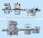 full set automatic perfume liquid filling machine line