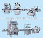 full set automatic perfume liquid filling machine line