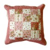 cotton patchwork pillow