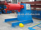 hydraulic decoiler / uncoiling machine without car