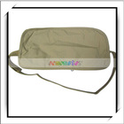 Beige Travel Security Waist Bag