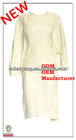 ladies high fashion puff sleeve european palace style beige sexy cocktail dress