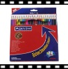 Wholesale wooden color pencil for school student & kids drawing set