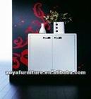 AY-ZR- A01 modern style high gloss shoe cabinet