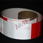 DOT-C2 & ECE-104 Diamond White/Red Retro Reflective Prism Film Sheets