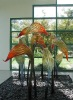 lily Style Glass Sculpture