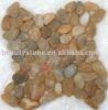 pebble stone tile/interlocked shape pebble tile