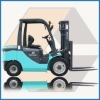 2T Diesel Forklift Truck with Japanese Yanmar engine ISUZU engine