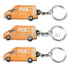 Soft PVC Car keyring