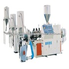 Counter Rotation Conical Twin-screw Granulation Extruder