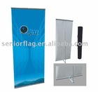 L-banner display stand