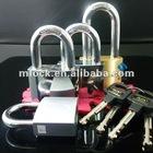 Chrome plated Brass Padlocks