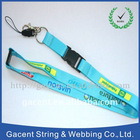Customized polyester lanyards